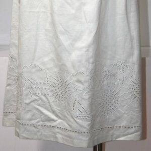 LILLY PULITZER WHITE SKIRT SIZE 4